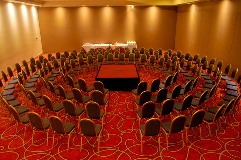 Crowne Plaza TUXPAN - Conference Room for 150 people with a beautiful design