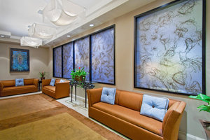 Hotel Lobby seating area Crowne Plaza Downtown Orlando