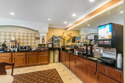 Comfort Inn Evansville - Breakfast Area