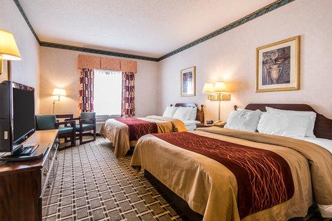 Comfort Inn Evansville - Queen Room