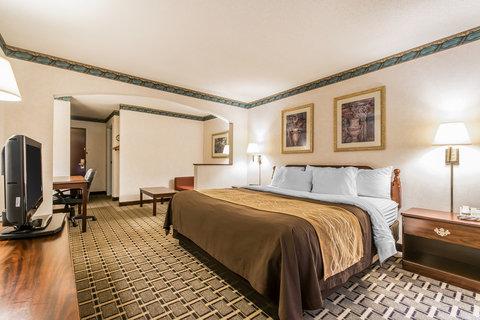 Comfort Inn Evansville - King Suite