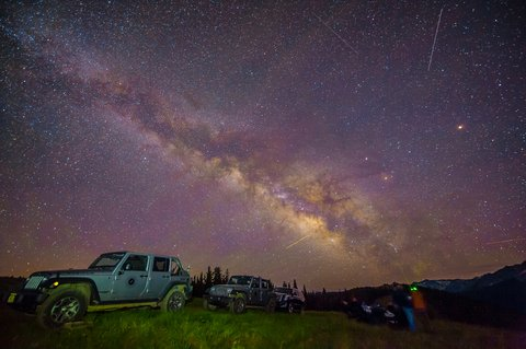 The Little Nell - Stargazing Jeep Tours