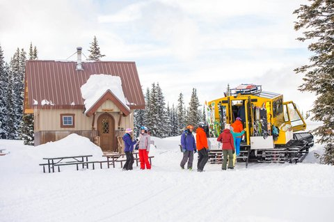 The Little Nell - Powder Cat Skiing