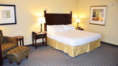 Holiday Inn Express & Suites MOUNTAIN IRON (VIRGINIA) - King Bed Guest Room