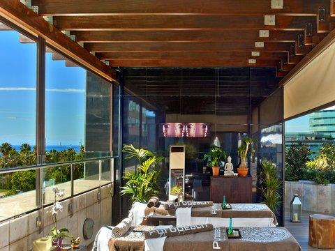 هيلتون دياغونال مار برشلونة - Rooftop Terrace Massage