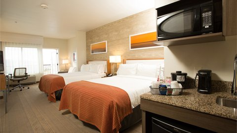 Holiday Inn Express & Suites Pocatello - Two Queen Bed Guest Room