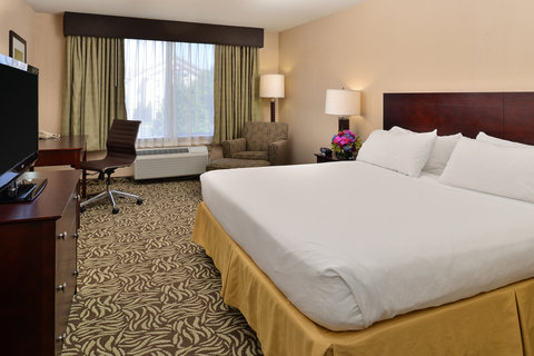 Holiday Inn Express & Suites FRESNO (RIVER PARK) HWY 41 - King Bed Guest Room
