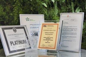 Holiday Inn Express Hong Kong Soho, Green Awards