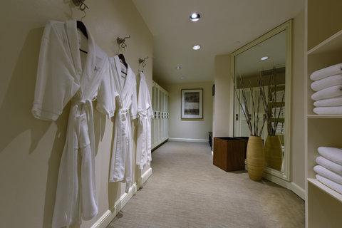 The Little Nell - Health Center Locker Room