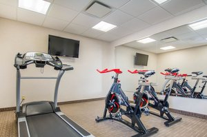 Fitness/ Exercise Room - Quality Inn & Suites Val-d'Or
