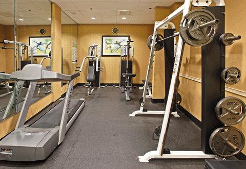 Crowne Plaza DALLAS-MARKET CENTER - Fitness Center
