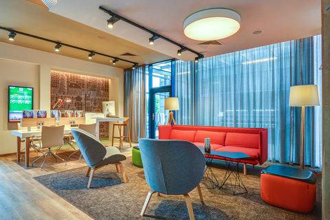 Tranzit Hotel - Lobby Lounge