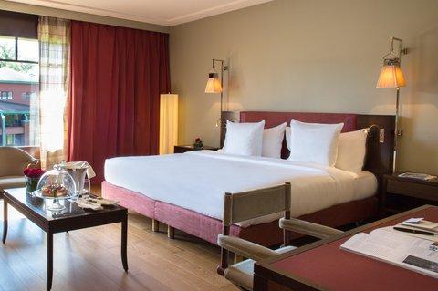 日内瓦香格里拉酒店及温泉 - Executive Suite Bedroom