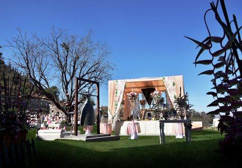 JW Marriott Mussoorie Walnut Grove Resort & Spa - Event Set-up at JW Lawns