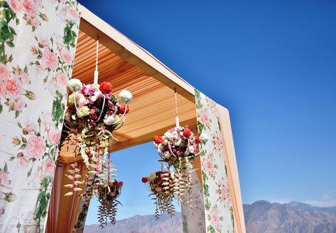 JW Marriott Mussoorie Walnut Grove Resort & Spa - Outdoor Set-up at JW Lawns