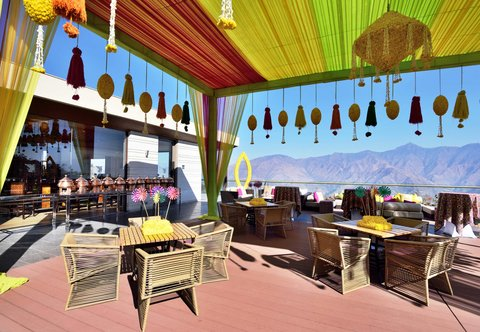 JW Marriott Mussoorie Walnut Grove Resort & Spa - Pre-wedding Decor at Trout House Grill and Bar