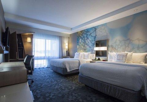 Courtyard Jackson Airport/Pearl - Queen Queen Guest Room