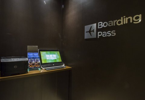 Courtyard Jackson Airport/Pearl - Boarding Pass Kiosk