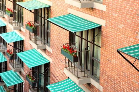 Millennium Bostonian Hotel Boston - Balconies
