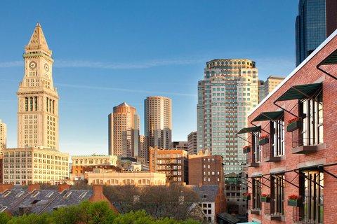 Millennium Bostonian Hotel Boston - Facade City