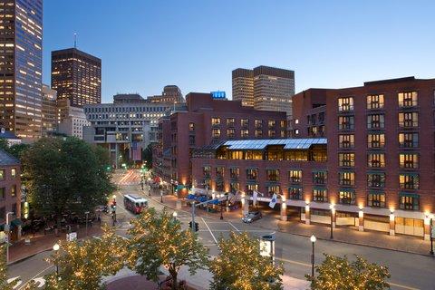 Millennium Bostonian Hotel Boston - Exterior