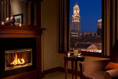 Millennium Bostonian Hotel Boston - Junior Suite  Detail Fireplace