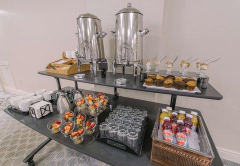 Courtyard Nashua - Meeting Space - Coffee Break