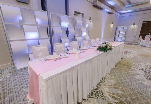 Courtyard Nashua - The Event Center - Wedding Party Setup