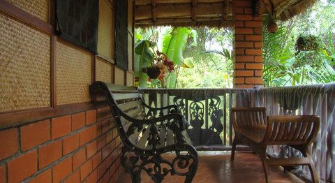 Wild Woods Spa and Resort - Bamboo Cottage Sitout