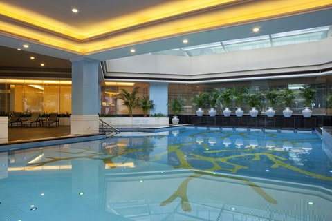 Crowne Plaza GUANGZHOU SCIENCE CITY - Swimming Pool
