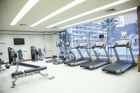 Crowne Plaza GUANGZHOU SCIENCE CITY - Fitness Centre Treadmills