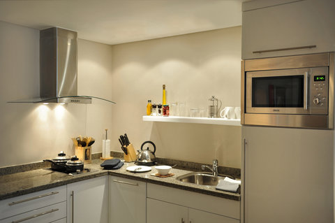 فندق ستيبردج سيتي ستار - Staybridge Suites-Cairo - fully equipped suite Kitchen