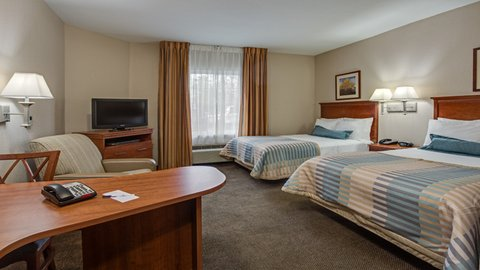 Candlewood Suites FT. LAUDERDALE AIRPORT/CRUISE - 2 Dbl Bed Studio Non-Smoking