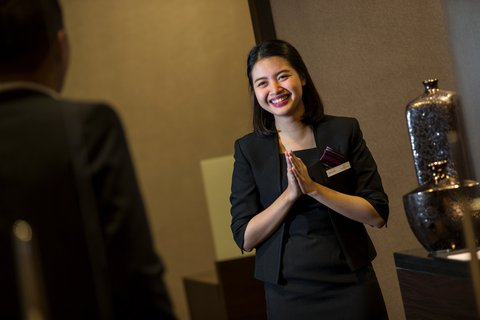 Crowne Plaza BANDUNG - Front Desk Agent at Crowne Plaza Bandung hotel in Indonesia