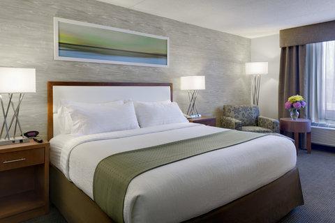 Holiday Inn ANN ARBOR-NEAR THE UNIV. OF MI - King Bed Guest Room