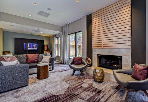 Courtyard Boise Downtown - Lobby Lounge