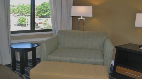 Holiday Inn CONCORD DOWNTOWN - Chair and a half - for comfortable reading or relaxing
