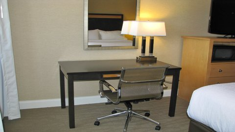 Holiday Inn CONCORD DOWNTOWN - An Ergonomic Desk   Chair provides comfort when working