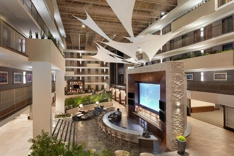 Embassy Suites Atlanta - Airport - Atrium 2