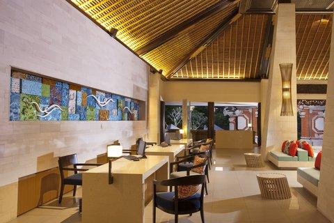 Holiday Inn Resort Baruna Bali - Reception - Holiday Inn Resort  Baruna Bali