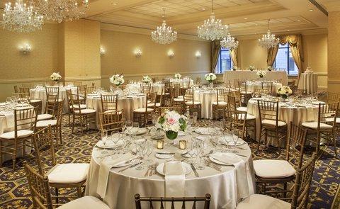 Omni Parker House Hotel - Alcott Ballroom Social