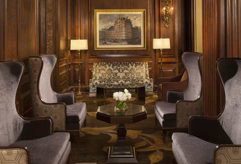 Omni Parker House Hotel - Lobby Seating Area