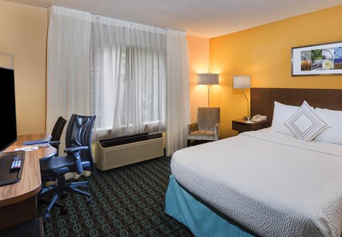 Fairfield Inn & Suites Atlanta Buckhead - King Guest Room