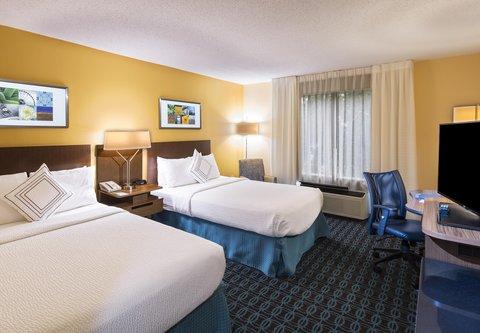 Fairfield Inn & Suites Atlanta Buckhead - Double Double Guest Room