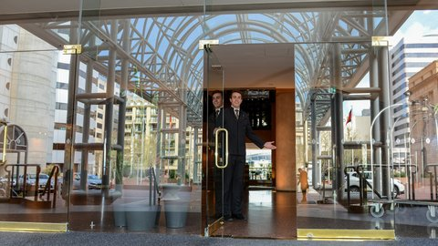 InterContinental Adelaide - Entrance