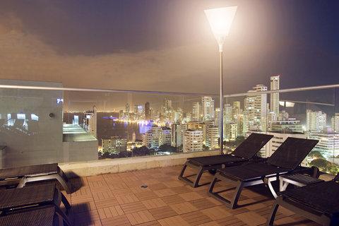 Capilla Del Mar - Capilla del Mar Hotel Pool Nigth