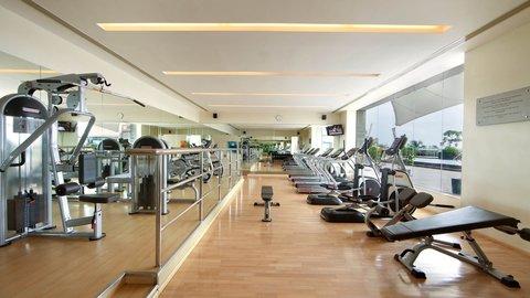 Holiday Inn COCHIN -  Hotel Fitness Center Gym Treadmill Instructor Guest