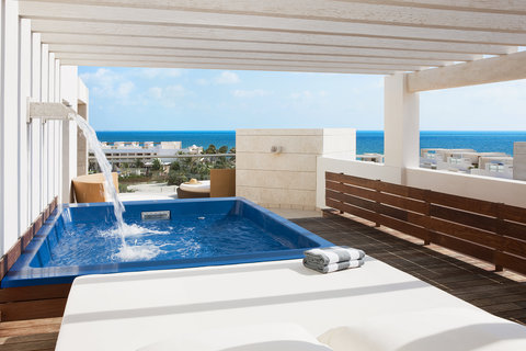 Beloved Playa Mujeres by Excellence Group - All Inclusive - Ocean View Terrace Ste With Plunge Pool