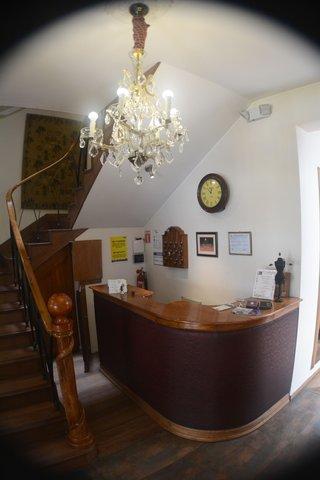 Hotel Casa Joaquin - Reception desk