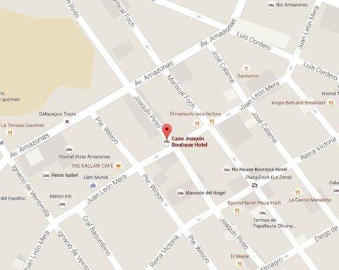 Hotel Casa Joaquin - Excellent location